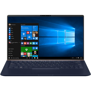 "Laptop ASUS ZenBook 13 UX333FN-A3066R, Intel® Core™ i7-8565U pana la 4.6GHz, 13.3"" Full HD, 16GB, SSD 512GB, NVIDIA GeForce MX150 2GB, Windows 10 Pro, Royal Blue Metal"
