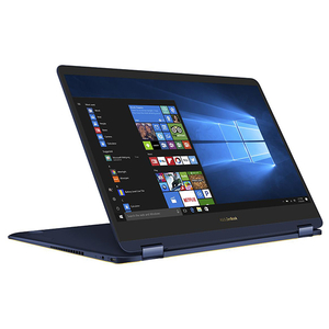 "Laptop 2 in 1 ASUS ZenBook Flip UX370UA-C4228R, 13.3"" Full HD Touch, Intel Core i7-8550U pana la 4.0Ghz, 16GB, SSD 256GB, Intel UHD Graphics 620, Windows 10 Home, Blue"