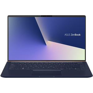 "Laptop ASUS ZenBook 14 UX433FA(NEW)-A5296, Intel Core i7-8565U pana la 4.6GHz, 14"" Full HD, 16GB, SSD 512GB, Intel UHD Graphics 620, Endless, Royal Blue"