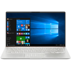 "Laptop ASUS ZenBook 14 UX433FA(NEW)-A5236R, Intel Core i7-8565U pana la 4.6GHz, 14"" Full HD, 16GB, SSD 512GB, Intel UHD Graphics 620, Windows 10 Pro, Icicle Silver"