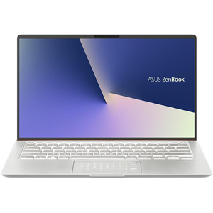 "Laptop ASUS ZenBook 14 UX433FN(NEW)-A5319, Intel Core i5-8265U pana la 3.9GHz, 14"" Full HD, 8GB, SSD 512GB, NVIDIA GeForce MX150 2GB, Endless, Icicle Silver"