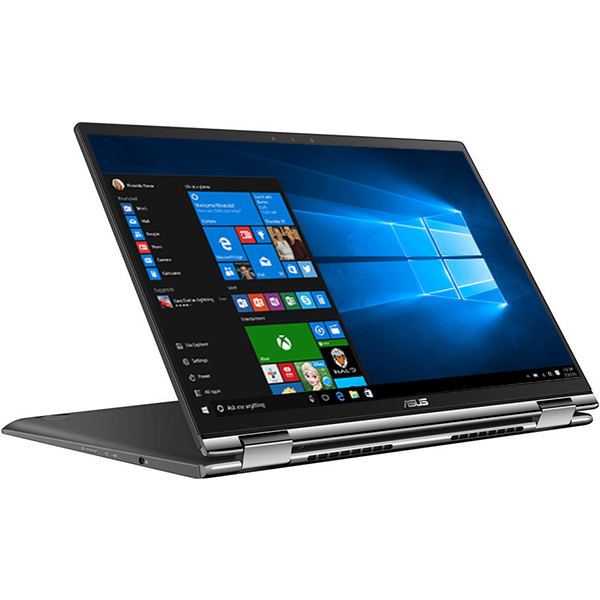 "Laptop 2 in 1 ASUS ZenBook Flip 13 UX362FA-EL119T, Intel® Core™ i5-8265U pana la 3.9GHz, 13.3"" Full HD Touch, 8GB, SSD 256GB, Intel® UHD Graphics 620, Windows 10 Home, Gun Grey"