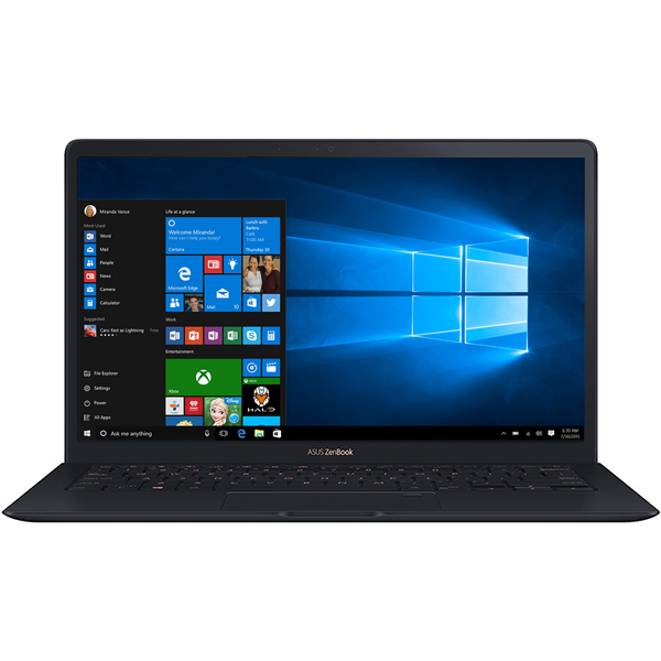 "Ultrabook ASUS ZenBook UX391UA-ET018T, Intel Core i7-8550U pana la 4.0Ghz, 13.3"" Full HD, 8GB, SSD 512GB, Intel UHD Graphics 620, Windows 10 Home, Deep Dive Blue"