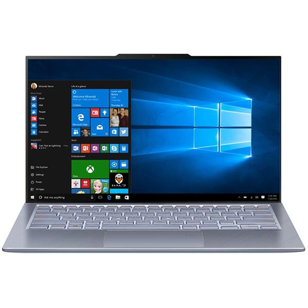"Laptop ASUS ZenBook 13 UX392FA-AB002R, Intel Core i7-8565U pana la 4.6, 13.9"" Full HD, 16GB, SSD 512GB, Intel UHD Graphics 620, Windows 10 Pro, Utopia Blue"