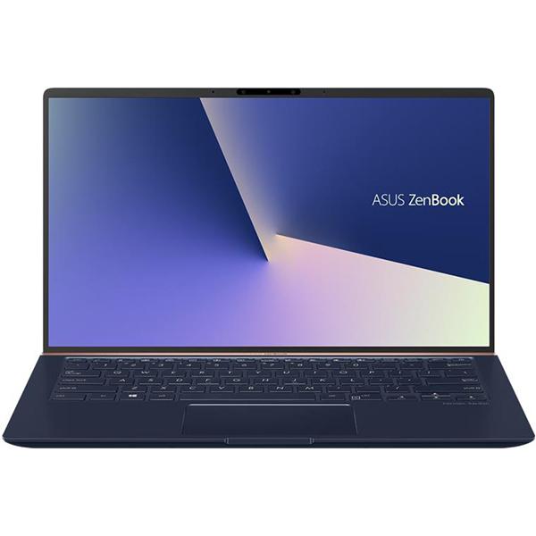 "Laptop ASUS ZenBook 14 UX433FA(NEW)-A5307, Intel Core i5-8265U pana la 3.9GHz, 14"" Full HD, 8GB, SSD 512GB, Intel UHD Graphics 620, Endless, Royal Blue"