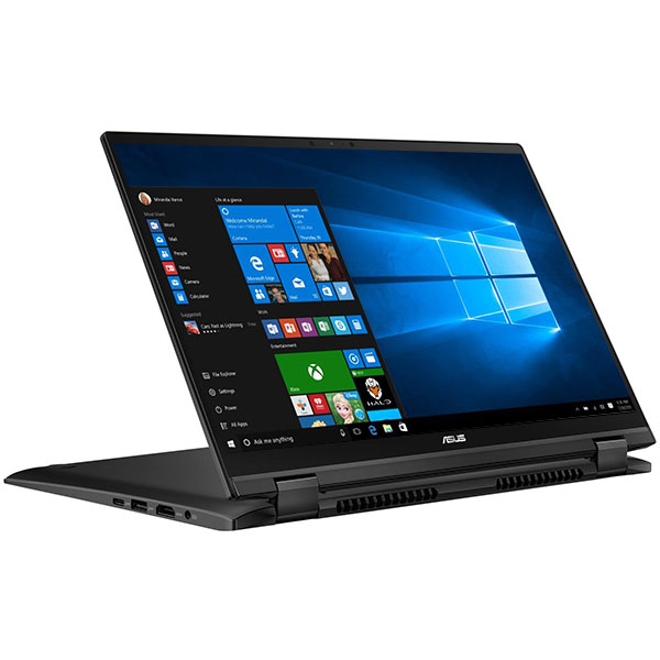 "Laptop ASUS ZenBook Flip 14 UX463FA-AI039T, Intel Core i5-10210U pana la 4.2GHz, 14"" Full HD Touch, 8GB, SSD 512GB, Intel UHD Graphics 620, Windows 10 Home, Gun Grey"