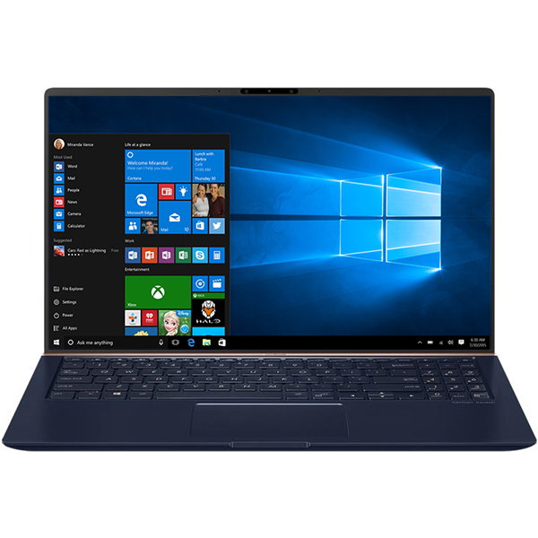 "Laptop ASUS ZenBook 15 UX533FD-A8105R, Intel Core i7-8565U 4.6GHz, 15.6"" Full HD, 16GB, SSD 1TB, NVIDIA GeForce GTX 1050 MAX Q 2GB, Windows 10 Pro, Blue"