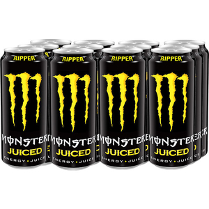 Bautura energizanta MONSTER Juiced Mango Loco bax 0.5L x 12 cutii