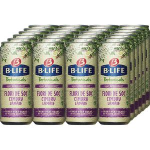 Bautura racoritoare fara alcool B-LIFE Soc bax 0.33L x 24 cutii