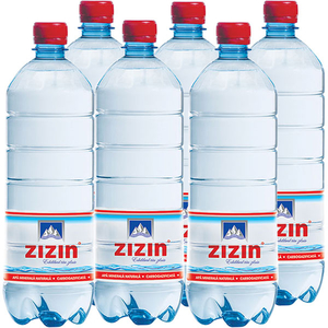Apa minerala ZIZIN bax 1L x 6 sticle