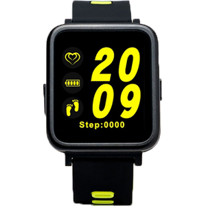 Smartwatch E-BODA Smart Time 350, Android/iOS, silicon, verde