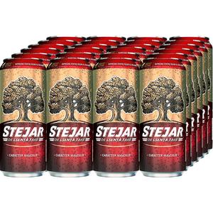 Bere blonda STEJAR Strong bax 0.5L x 24 cutii