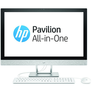 "Sistem PC All in One HP Pavilion 27-r101nq, 27"" Full HD, Intel Core i3-8100T 3.1GHz, 4GB, 2TB, AMD Radeon 530 2GB, Free Dos"