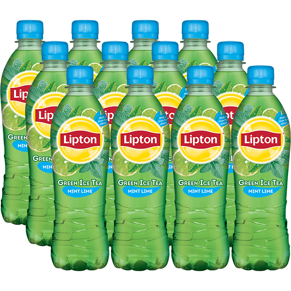 Ice Tea LIPTON Green Lime Mint bax 0.5L x 12 sticle