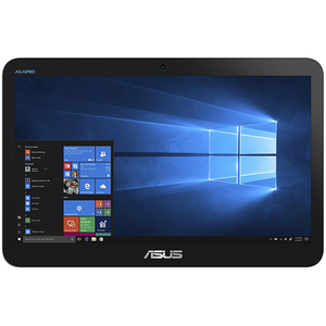 "Sistem PC All in One ASUS V161GAT-BD111T, 15.6"" HD Touch, Intel Celeron N4000 pana la 2.6GHz, 4GB, SSD 256GB, Intel UHD Graphics 600, Windows 10 Home"
