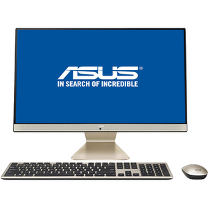 "Sistem PC All in One ASUS Vivo V241FAK-BA047D, 23.8"" Full HD, Intel Core i5-8265U pana la 3.4GHz, 8GB, SSD 512GB, Intel UHD Graphics 620, Endless"