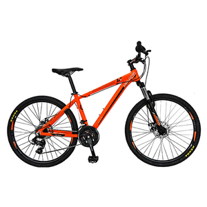 "Bicicleta Mountain Bike VELORS V2658C, 26"", cadru aluminiu, portocaliu"
