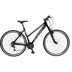 """Bicicleta Mountain Bike Urban VELORS V2700A, 27"""", cadru aluminiu, negru - gri"""