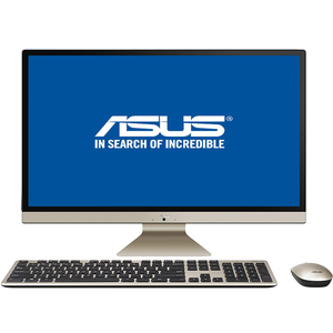 "Sistem PC All in One ASUS Vivo V272UAK-BA002D, 27"" Full HD, Intel Core i5-8250U pana la 3.4GHz, 8GB, 1TB, Intel UHD Graphics 620, Endless"