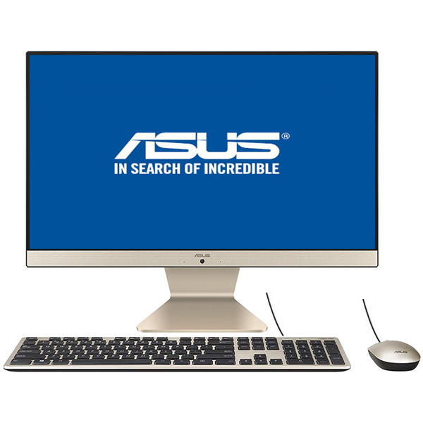 "Sistem PC All in One ASUS Vivo V222UBK-BA010D, 21.5"" Full HD, Intel Core i3-8130U pana la 3.4GHz, 4GB, 500GB, NVIDIA GeForce MX110 3GB, Endless"