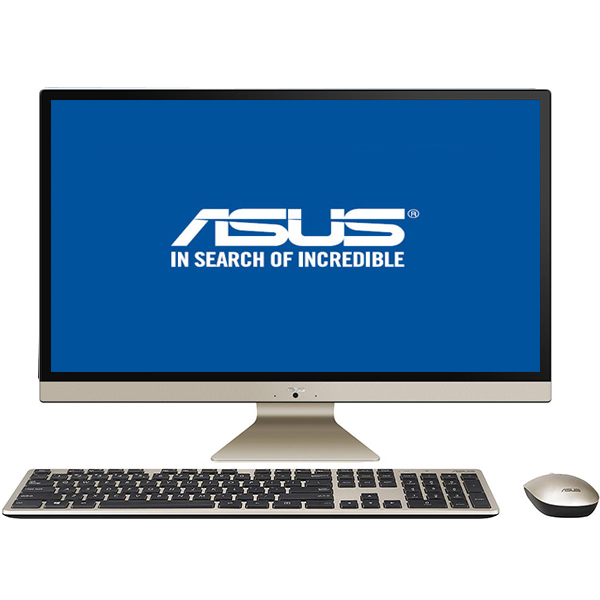 "Sistem PC All in One ASUS Vivo V272UAK-BA002D, 27"" Full HD, Intel Core i5-8250U pana la 3.4GHz, 8GB, 1TB, Intel UHD Graphics 620, Endless"