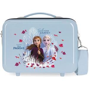 Geanta pentru cosmetice DISNEY Frozen Trust Your Journal 25439.61, albastru