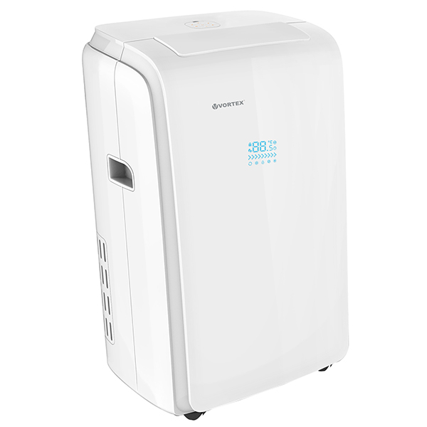Aer conditionat portabil VORTEX VAP-T09K, 9.000BTU/h, A/A, alb