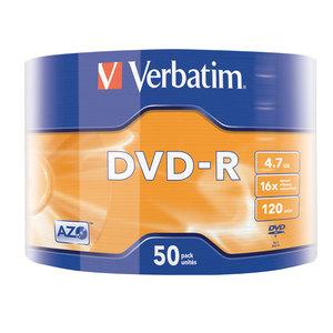 DVD-R VERBATIM VB020105, 16x,  4.7GB, 50 buc