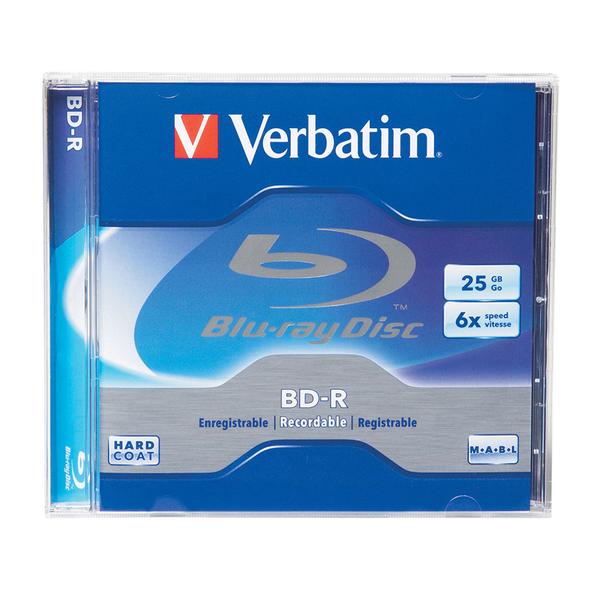 BD-R VERBATIM VB030100, 6x, 25GB, 1buc