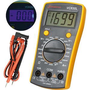 Multimetru digital SMA VC 830L, 9V, ecran digital