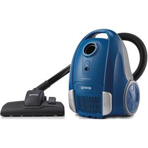 Aspirator cu sac GORENJE Compact Midi VCEA11CMBU, 2 l, 800 W, albastru