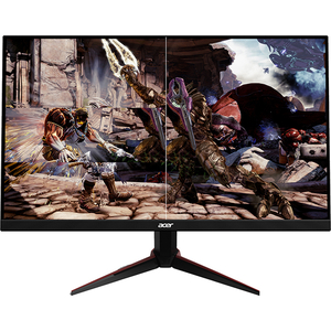 "Monitor Gaming LED IPS ACER Nitro VG220QBMIIX, 21.5"", Full HD, 75Hz, FreeSync, negru"