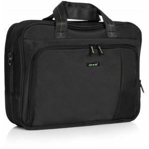 Geanta de laptop LAMONZA Crest A12780, negru-verde
