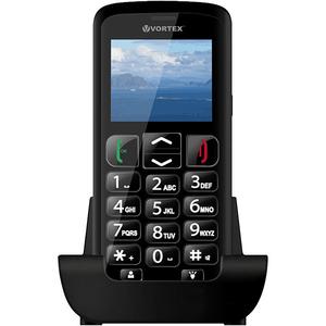 Telefon mobil VORTEX Senior VO9005BK, 256MB RAM, 3G, Dual SIM, Black