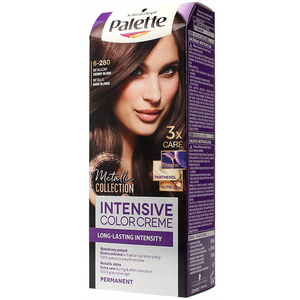 Vopsea de par PALETTE Intensive Color Cream, 6-280 Metalic Clasic Blonde, 110ml