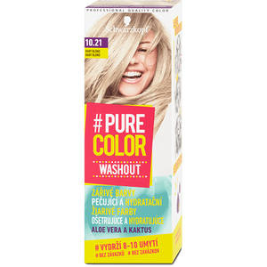 Vopsea de par SCHWARZKOPF Pure Color Washout, 10.21 Baby Blond, 60ml