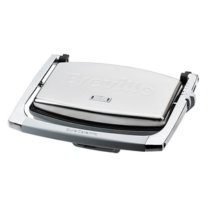 Prajitor de sandwich-uri BREVILLE Press DuraCeramic VST071X-01, 1000W, gri