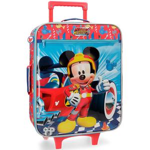 Troler copii DISNEY Mickey Winner, 50 cm, albastru-rosu