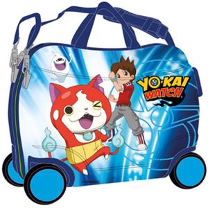 Troler copii CARS Yo-Kai Nathan, 50 cm, albastru