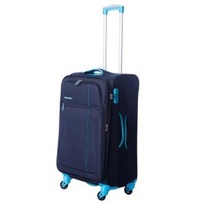 Troler LAMONZA Ultralight, 67 cm, albastru-turcoaz