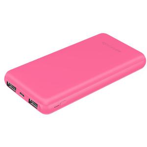 Baterie externa PROMATE VolTag-10C, 10000mAh, 2xUSB, USB-C, pink