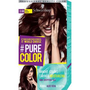 Vopsea de par SCHWARZKOPF Pure Color, 3.68 Cireasa inchisa, 142.5ml