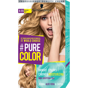 Vopsea de par SCHWARZKOPF Pure Color, 9.55 Blond auriu, 142.5ml