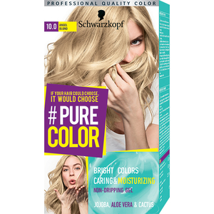 Vopsea de par SCHWARZKOPF Pure Color, 10.0 Blond angelic, 142.5ml