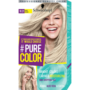 Vopsea de par SCHWARZKOPF Pure Color, 10.21 Baby blond, 142.5ml
