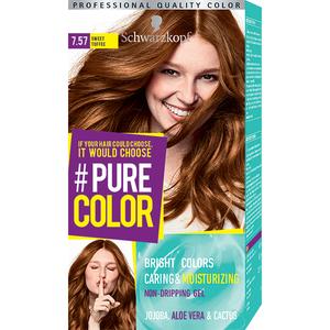 Vopsea de par SCHWARZKOPF Pure Color, 7.57 Caramel dulce, 142.5ml