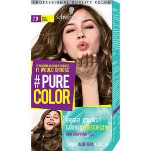 Vopsea de par SCHWARZKOPF Pure Color, 7.0 Blond nude, 142.5ml