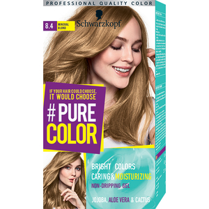 Vopsea de par SCHWARZKOPF Pure Color, 8.4 Blond mineral, 142.5ml