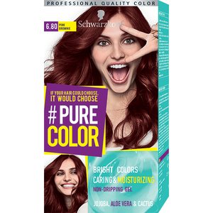 Vopsea de par SCHWARZKOPF Pure Color, Saten rozaliu, 142.5ml
