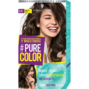 Vopsea de par SCHWARZKOPF Pure Color, 6.0 Cacao rumenita, 142.5 ml